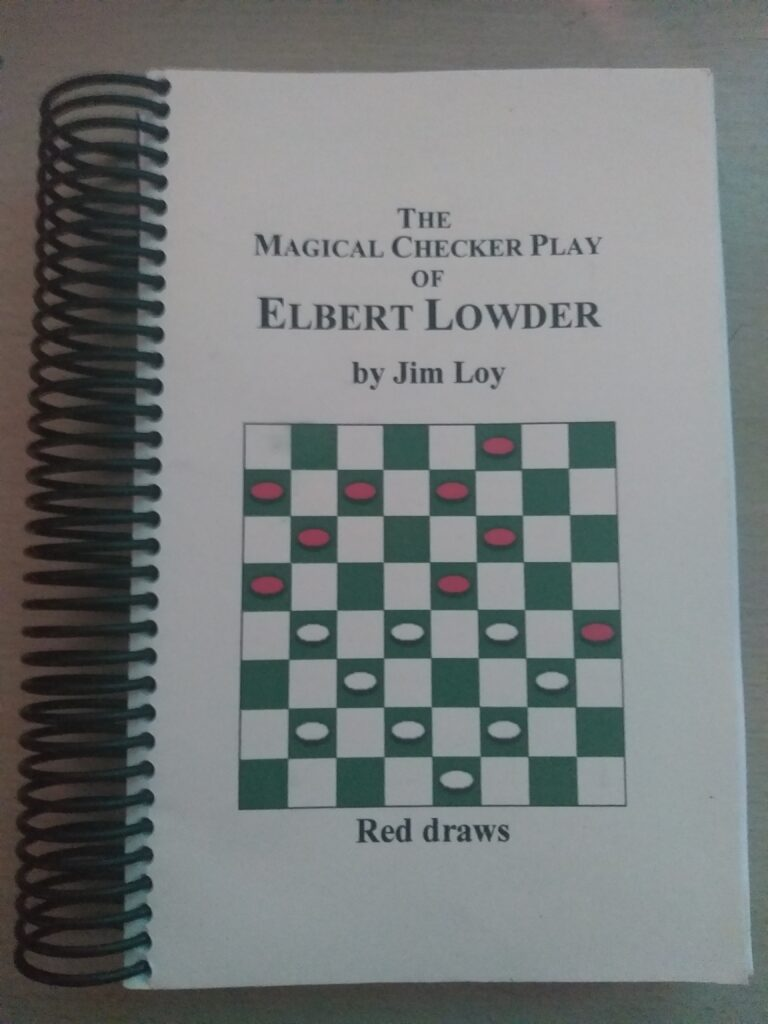 The_Magical_Checkers_Games_of_Elbert_Lowder_Cover