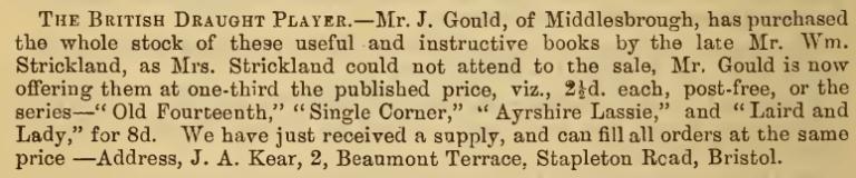 Strickland_Books_Internationsl_Draughts_Magazine_August_1888